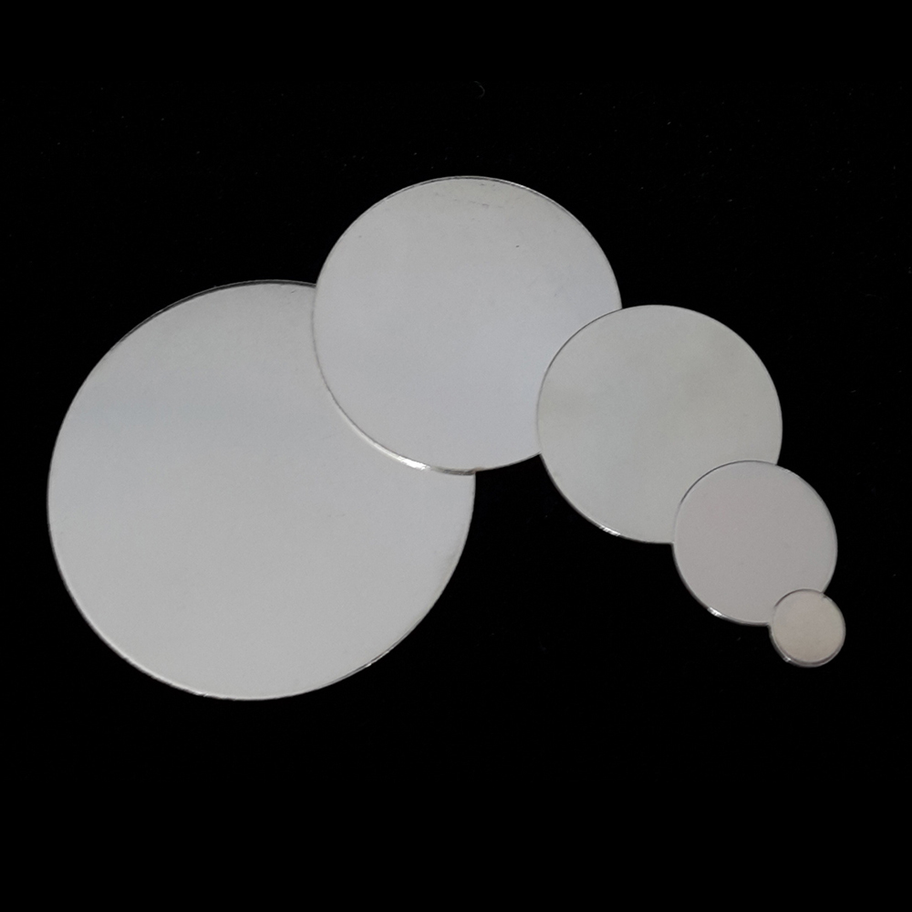 7 x Sterling Silver Round stamping blanks
