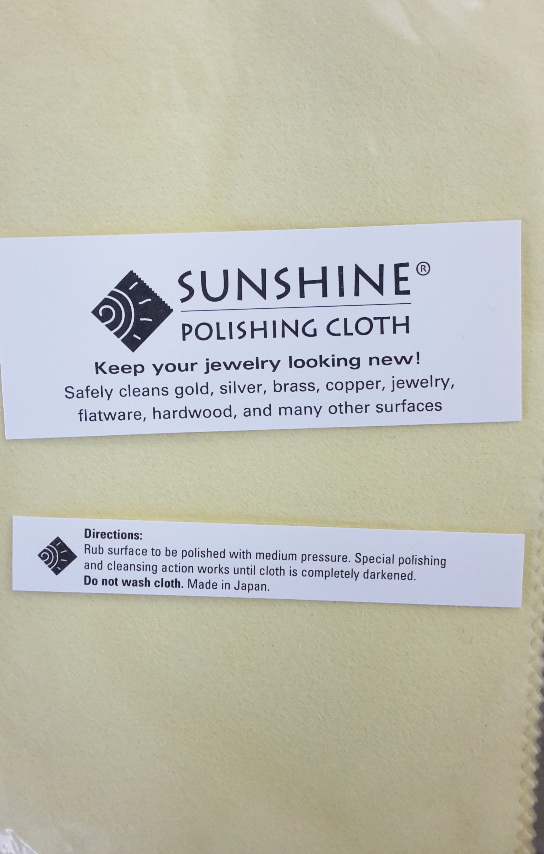 Sunshine Polishing Cloth 7 1/2