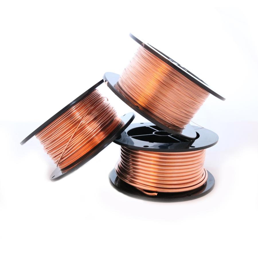 1 lb, 99.9% Pure Copper Wire, Dead Soft, Half Round – M.Y. Jewelry ...