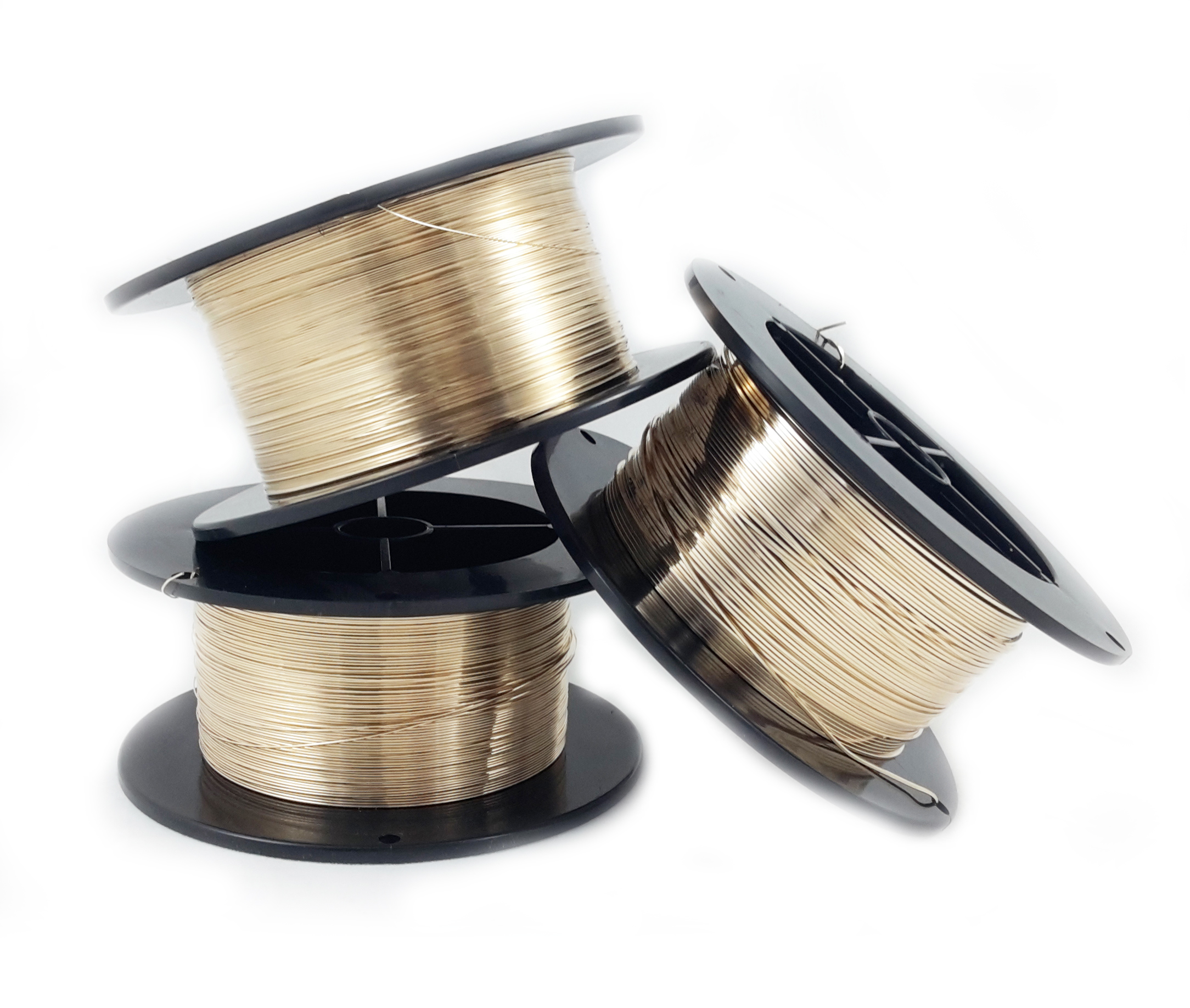 Spool gauges 26 To 16 Bronze Round Wire Dead Soft 1//4 Lb