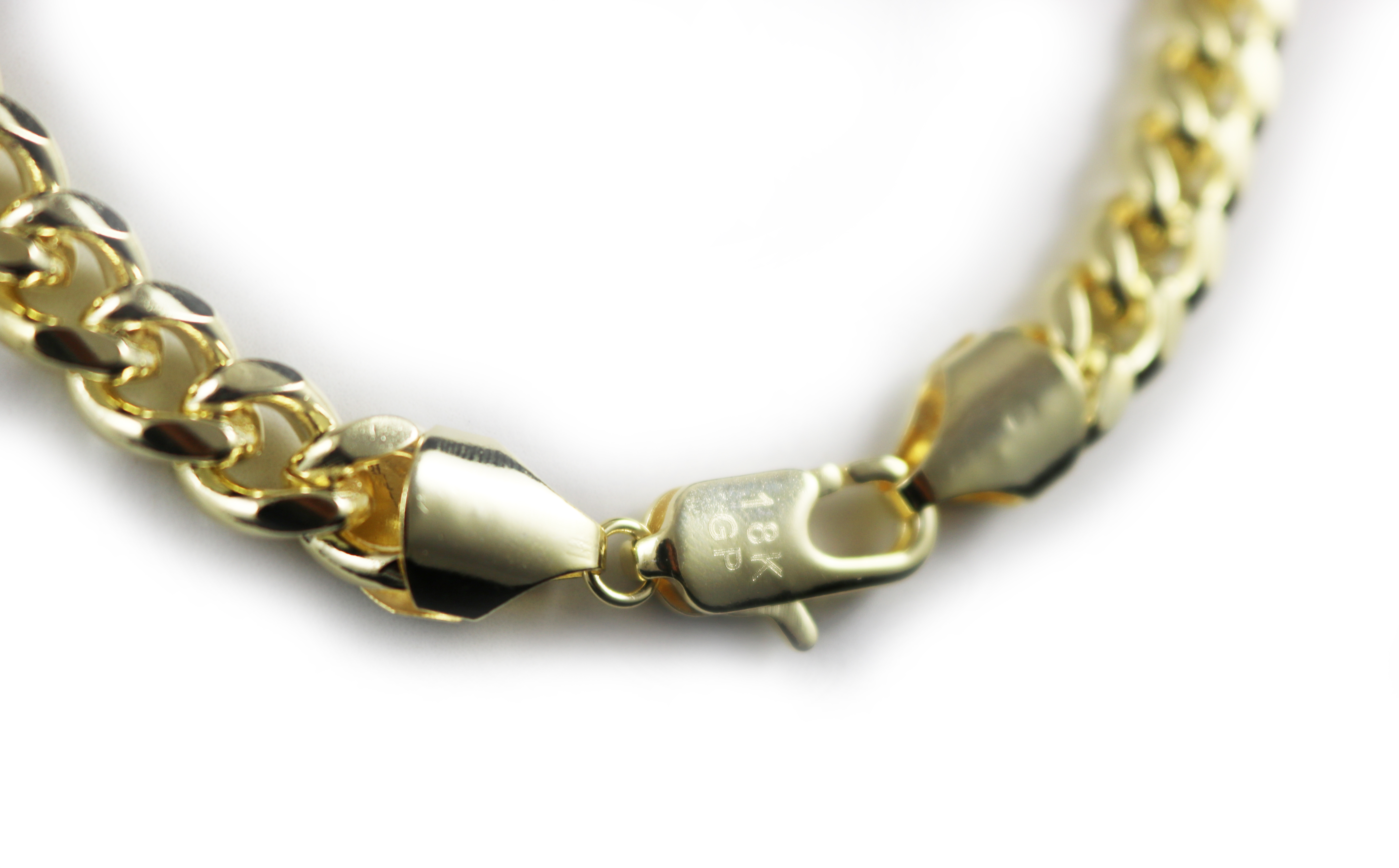 18K Gold Filled Curb link Chain
